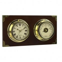 Ensemble horloge & baromètre