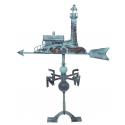 Girouette phare - Aspect vieilli