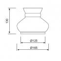 Dimensions - Lampe sur pied PORTO ERCOLE - Marineshop