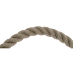 Cordage triple torsion - Chanvre
