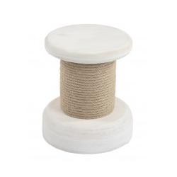 Tabouret - Modèle Cabestant - Bois Peint - Marineshop