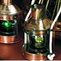 Lampe à pétrole tête de mât - Marineshop