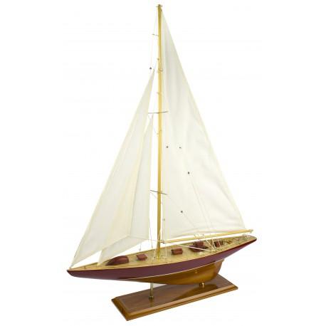 Maquette de Voilier J-Class - 63 cm