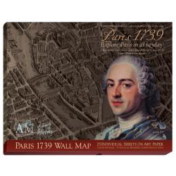 Plan du vieux Paris en 1739