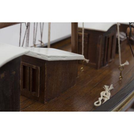 Maquette - Ketch 2 MATS - pont voilier