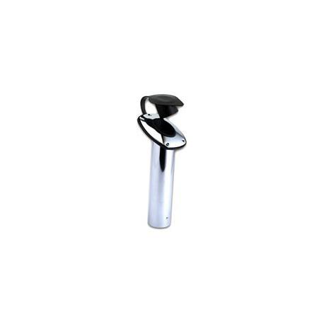 Porte canne encastrable laiton ou chromé - 3428 laiton