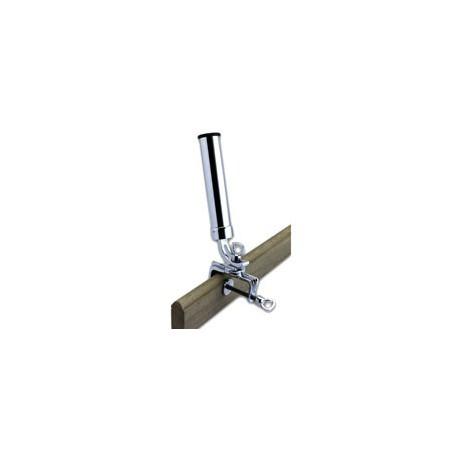 Porte canne orientable fixation sur tableau - 3434 laiton