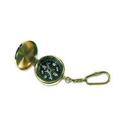 Porte clé boussole laiton - 3507