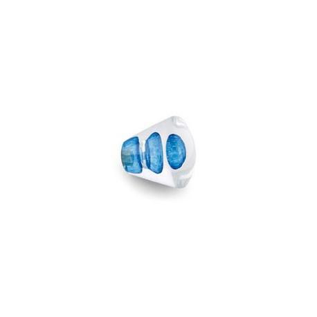 Bouton de meuble ou de tiroir DIABOLO MER - 3516A BLEU