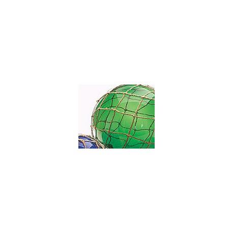Echantillon Boule de Chalut verte rouge et bleue - set de 3 - 406A-B-C LOT DE 3 BOULES ASSORTIES 15 CM