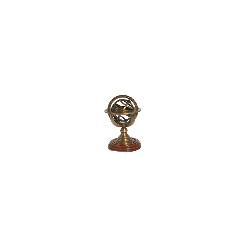 sphere armillaire presse papier r plique miniature d 39 instrument. Black Bedroom Furniture Sets. Home Design Ideas