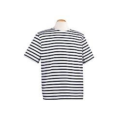Tee-shirt Marin rayé blanc et bleu marine - 560AF
