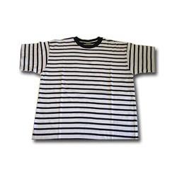 Tee-shirt rayé marine enfant - 619ENF