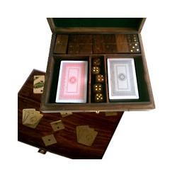 Coffret de jeux en bois massif - DE 7202