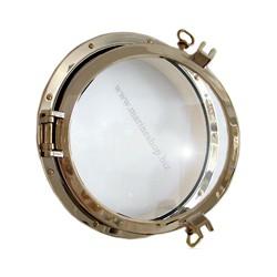 Hublot rond Armada en laiton 26,4 à 47 cm - 720A laiton 26,4 cm épaisseur 2,5 cm