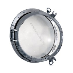 Hublot rond Armada chromé de 26,4 à 47 cm - 720ACR 26,4 cm epaisseur 2,5 cm