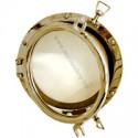 Hublot rond bateau laiton Clipper 15,3 à 20,7 cm - 723 laiton 15,3 cm