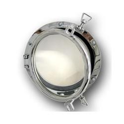 Hublot rond bateau chromé Clipper 15,3 à 20,7 cm - 723CR chromé 15,3 cm
