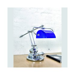 Lampe Ponecla Style banque - 7731OpaBlanche