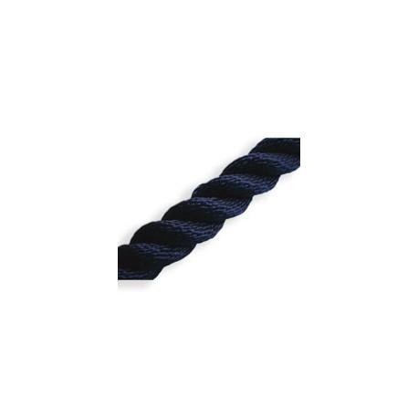 Bobine de cordage bleu cablé tressé - 8068A 10mm