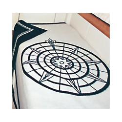 Couverture réversible en laine CABIN ROOM - 1036