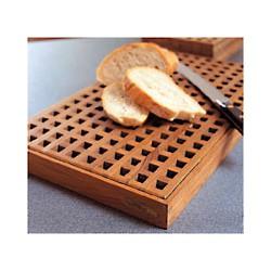 Planche à pain en teck - 1062