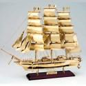 Voilier maquette bateau CUTTY SARK en laiton - 1073