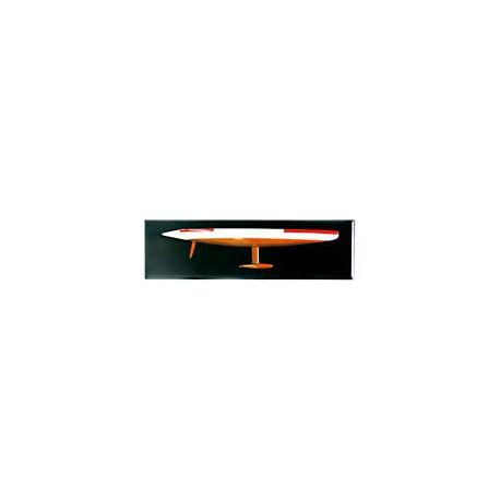 Demi-coque AMERICA'S CUP bicolore 50 cm - 1084 50 cm