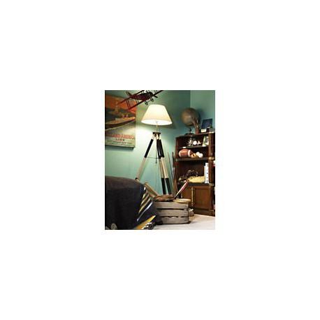 Lampe tripode topographe noire - 1103