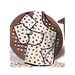 Set de cuisine tablier manique gant Régate - 1128