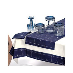 Nappe de table rectangulaire Neptune - 1135A 160X135
