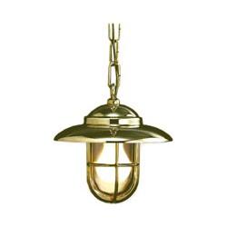 Lampe suspension BAYONNE laiton - 9642