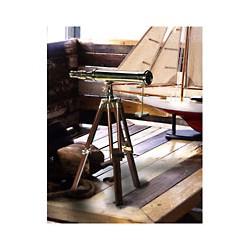 Télescope de décoration laiton - 1181