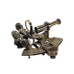 Sextant Victorien de poche en bronze vieilli - 1183