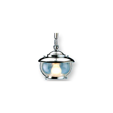 Lampe suspension GRAU DU ROI chromée - 9643CR