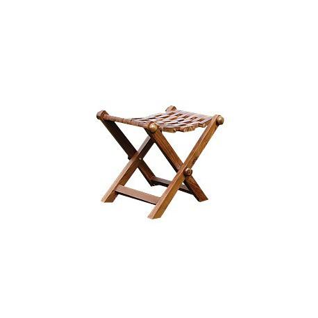 tabouret pliant bois exotique pondichery tabouret en bois massif exotique se pliant ais ment. Black Bedroom Furniture Sets. Home Design Ideas