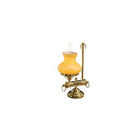 Lampe de bureau Olga - 3126A OPALINE BLANCHE